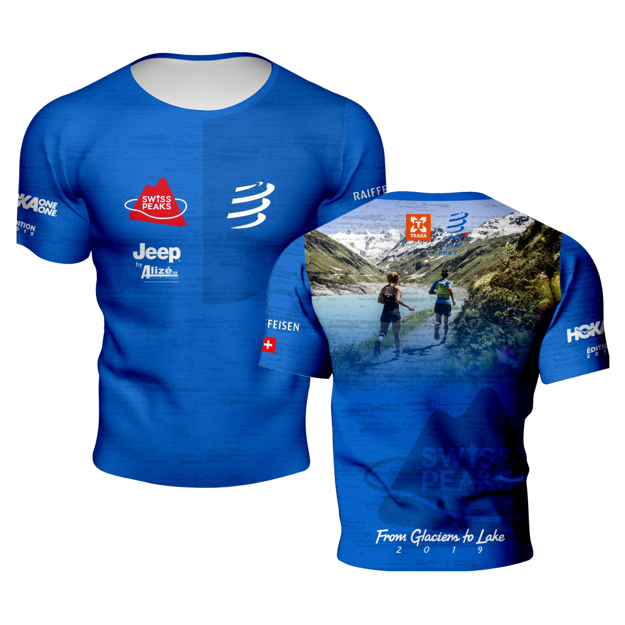 SwissPeaks Compressport Racer Shirt 2019
