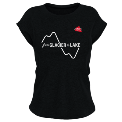 Exclusif et limité – T-shirt Muon SwissPeaks From Glacier to Lake
